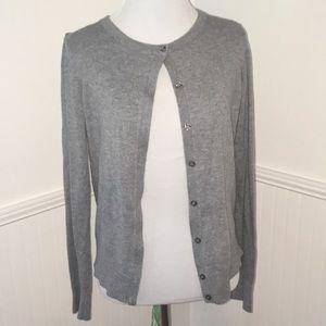 Basic grey cardigan